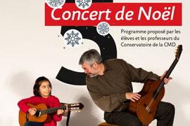 Concert de Noël – Mercredi 19 décembre / 18h